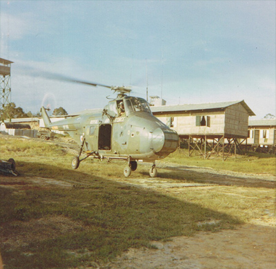 GL - Helicopter operations in Borneo